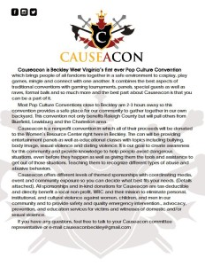 causeacon sponsor flyer