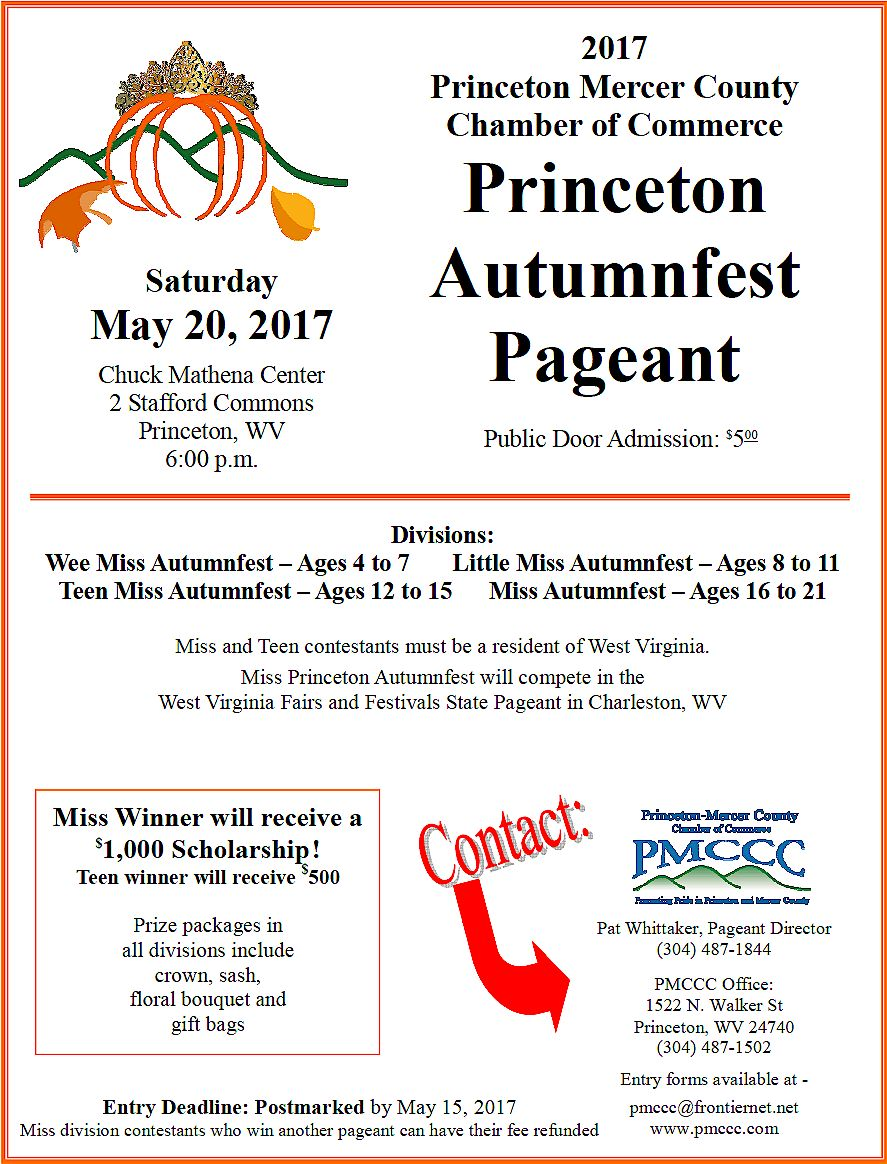princeton autumn fest pageant 2017