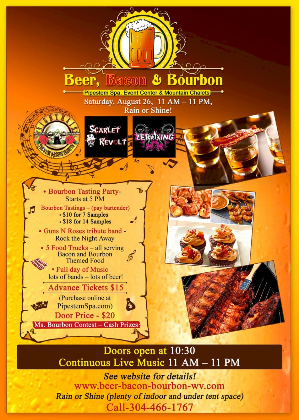 pipestem beer bacon event aug 2017