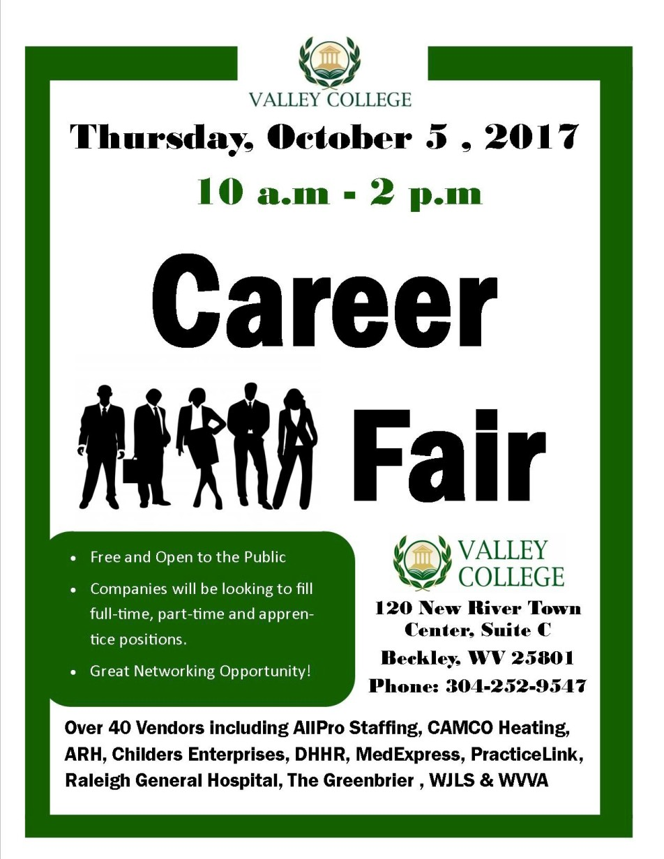 valley college career fair oct 2017