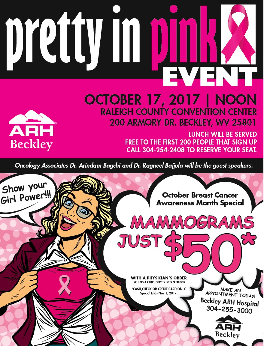 arh pretty in pink event oct 2017