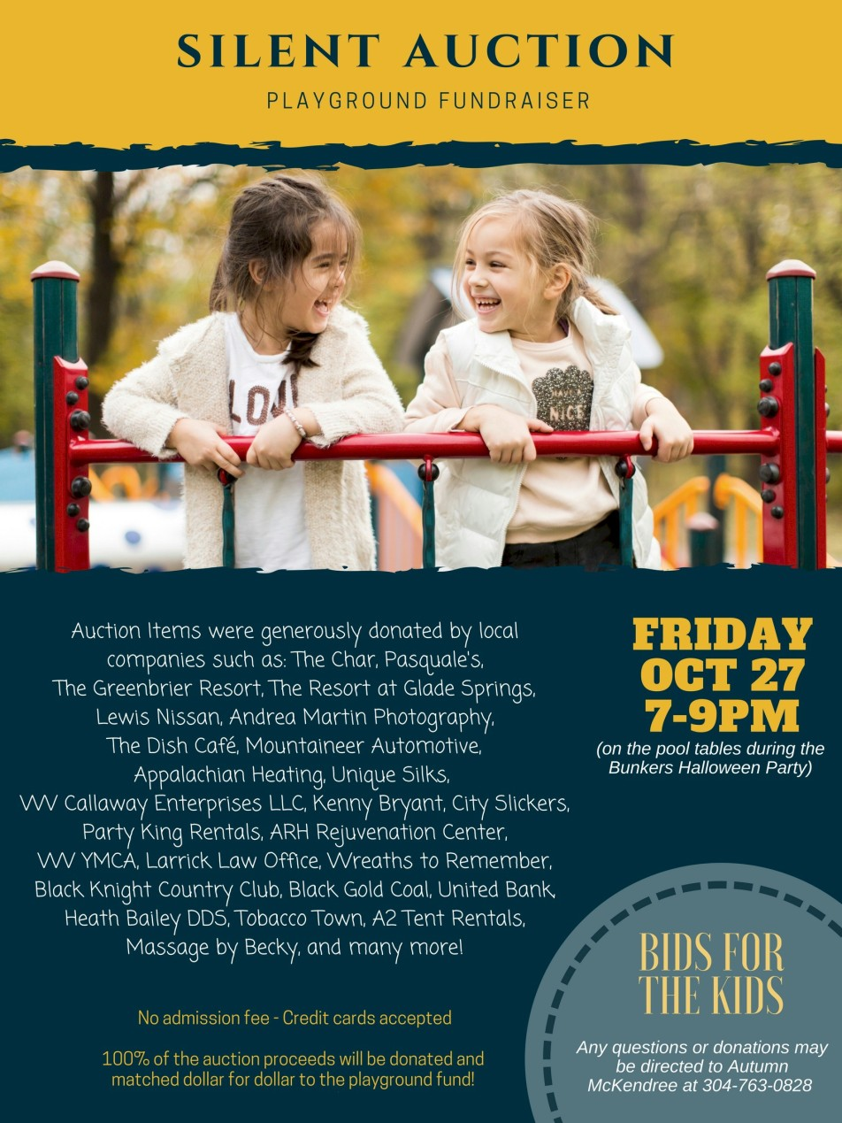 glade silent auction playground oct 2017
