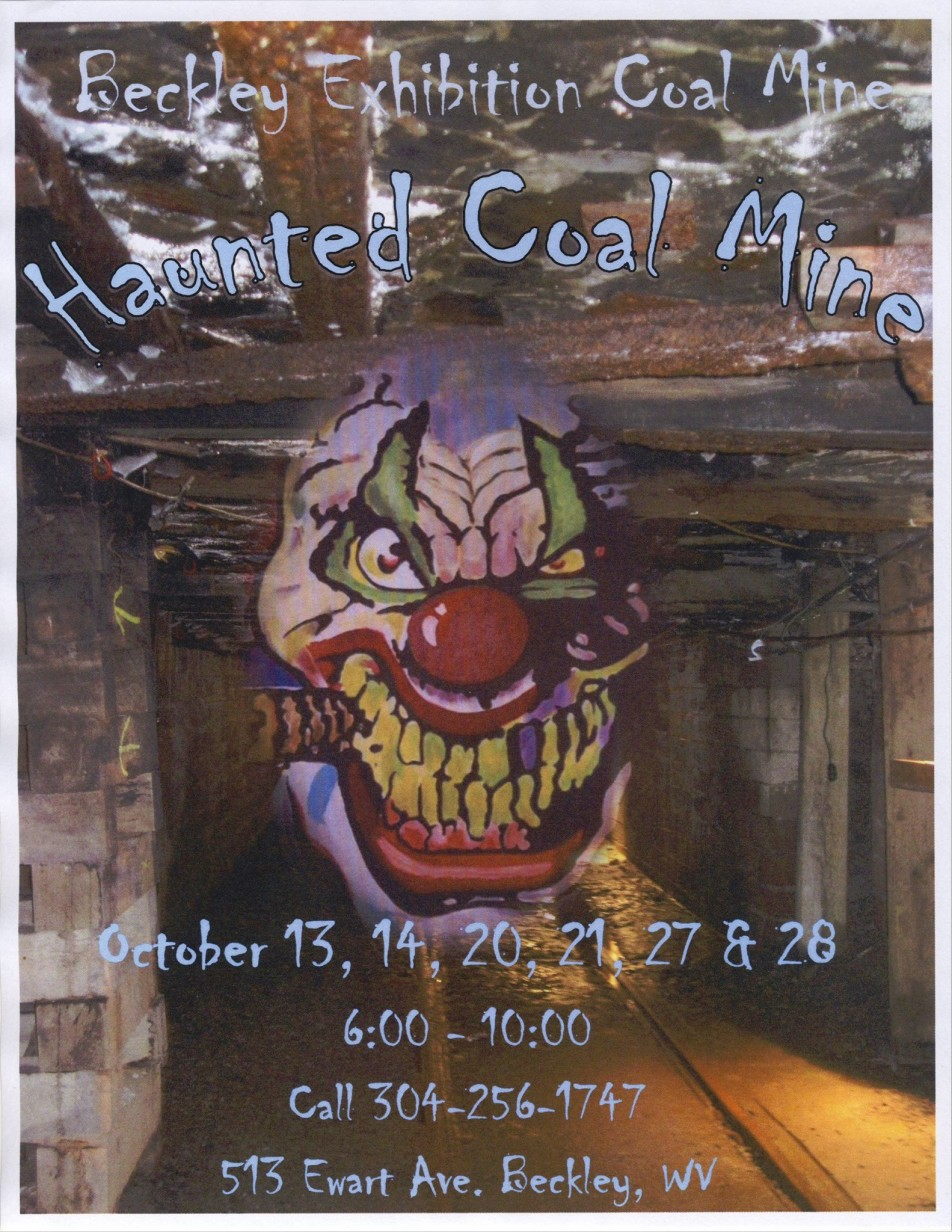 haunted coal mine 2017